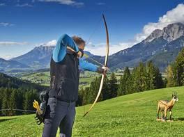Jeder Schuss ein Treffer auf dem Bogenparcours der Jufenalm